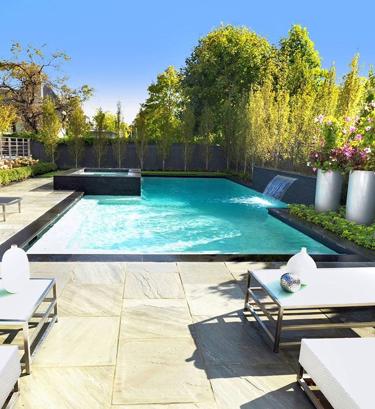 Imagine your own private oasis. Betz Pools Toronto.