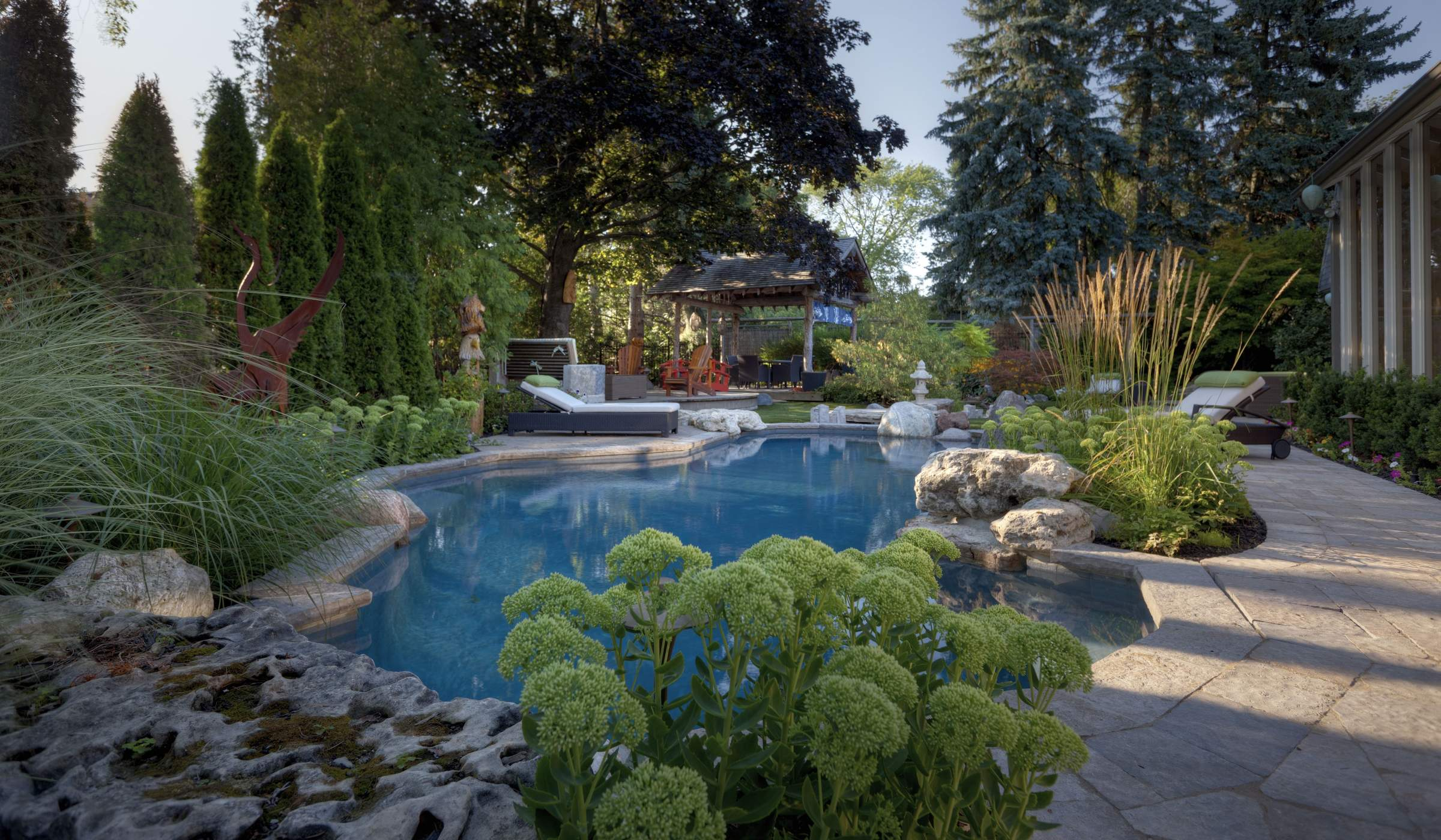 Backyard Planning Betz Pools